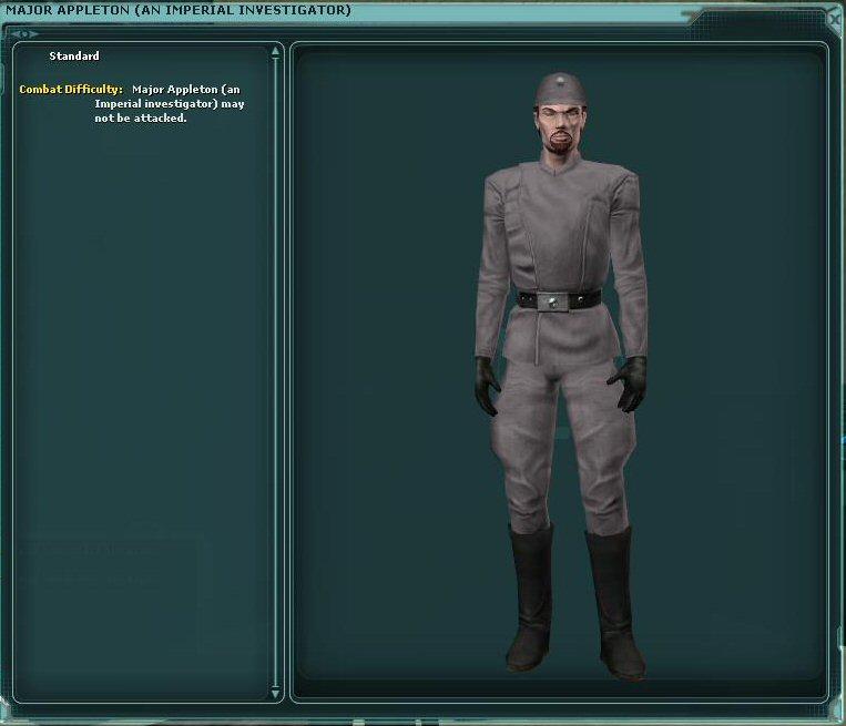 Major Appleton (An Imperial Investigator)