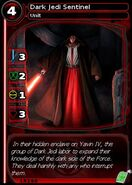 Dark Jedi Sentinel (card)