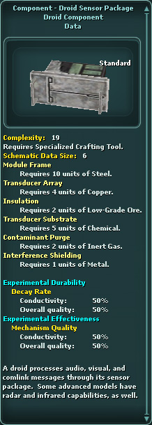 Component - Droid Sensor Package