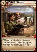 Pistol Drillmaster (card)