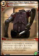 SpecOps Field Agent Pack (card)