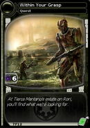 Within Your Grasp (card)