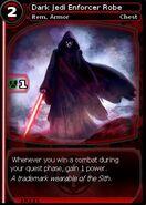 Dark Jedi Enforcer Robe (card)