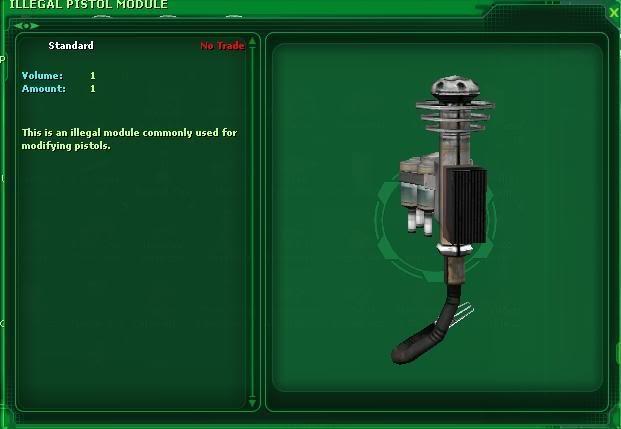 Illegal Pistol Module