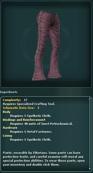 Ithorian Buckle Pants