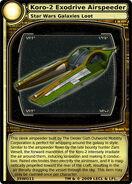 Koro-2 Exodrive Aiirspeeder (card)