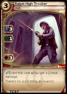 Rebel High Trooper (card)