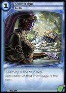 Knowledge (card)