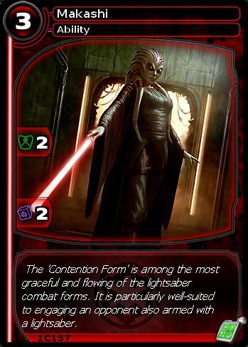 Makashi (card)