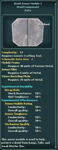 Module - Droid Armor 2