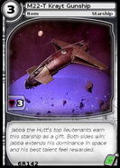 M22-T Krayt Gunship (card)