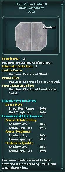 Module - Droid Armor 3