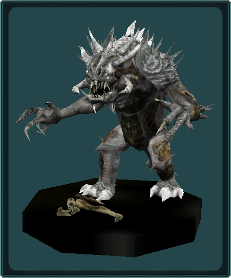 Undead Rancor Statuette