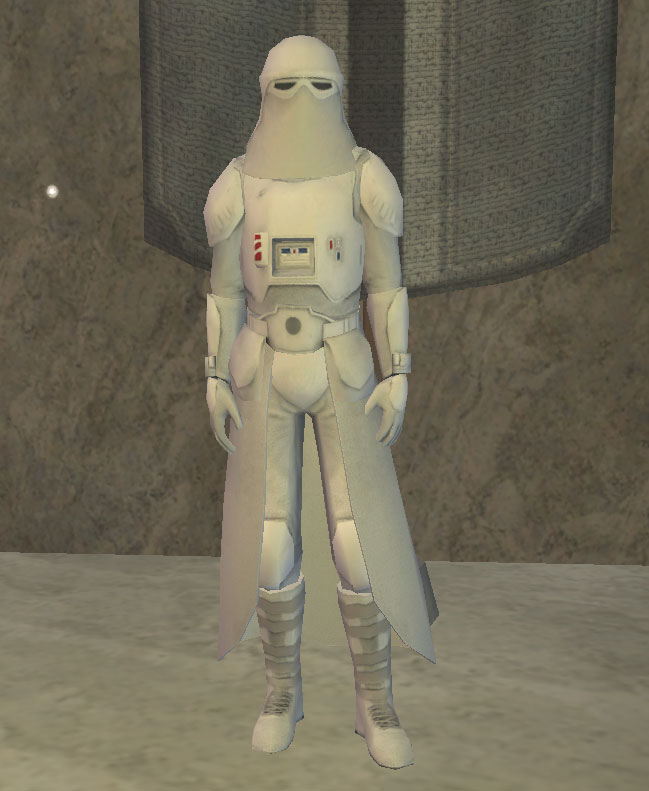 An Imperial Snowtrooper