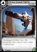 Kihraxz Assault Fighter (card)