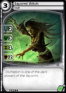 Sayormi Witch (card)