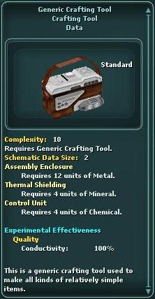 Generic Crafting Tool