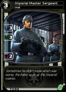 Imperial Master Sergeant (card)