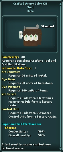 Crafted Armor Color Kit