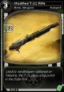 Modified T-21 Rifle (card)