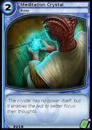 Meditation Crystal (card)