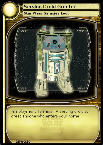 Serving Droid Greeter