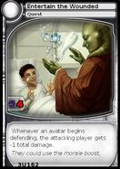 Entertain the Wounded (card)