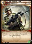A295 Sniper Rifle (card)