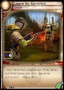 Leave No Survivors (card)