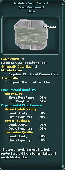 Module - Droid Armor 1