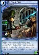 Forsake Fear (card)