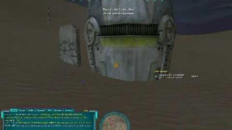 Star Wars Galaxies - Playing with Storyteller