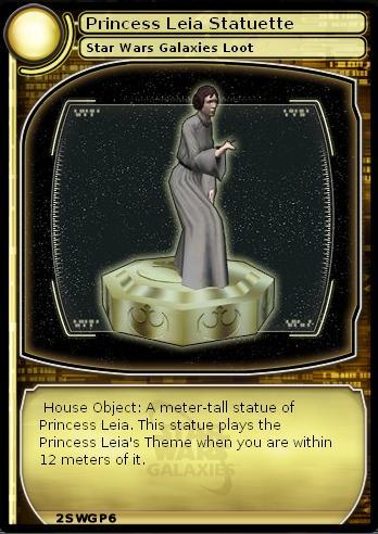 Princess Leia Statuette