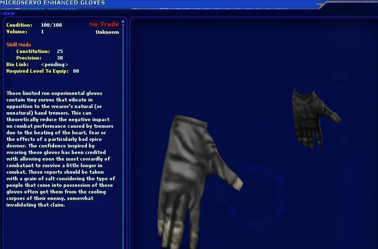 Microservo Enhanced Gloves