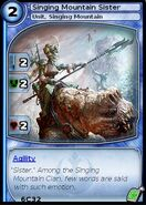 Singing Mountain Sister (card)