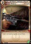 DL-44 Heavy Blaster Pistol (card)