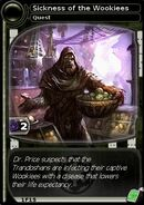 Sickness of the Wookiees (card)