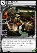 Undermine (card)