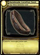 Handmade Corellian Sash (card)