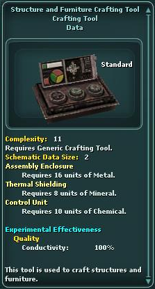 Structure and Furniture Crafting Tool