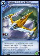 Naboo N-1 Starfighter (card)
