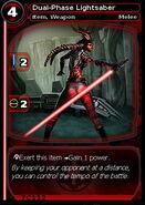Dual-Phase Lightsaber (card)