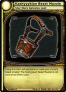 Kashyyykian Beast Muzzle (card)