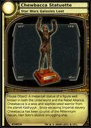 Chewbacca Statuette (card)