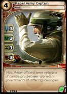 Rebel Army Captain (card)