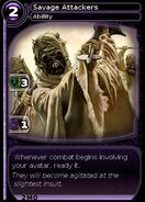 Savage Attackers (card)