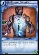 Lightsaber Assembly (card)