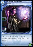 Control the Force (card)