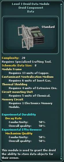 Module - Droid Data 3