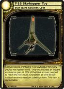 T-16 Skyhopper Toy (card)